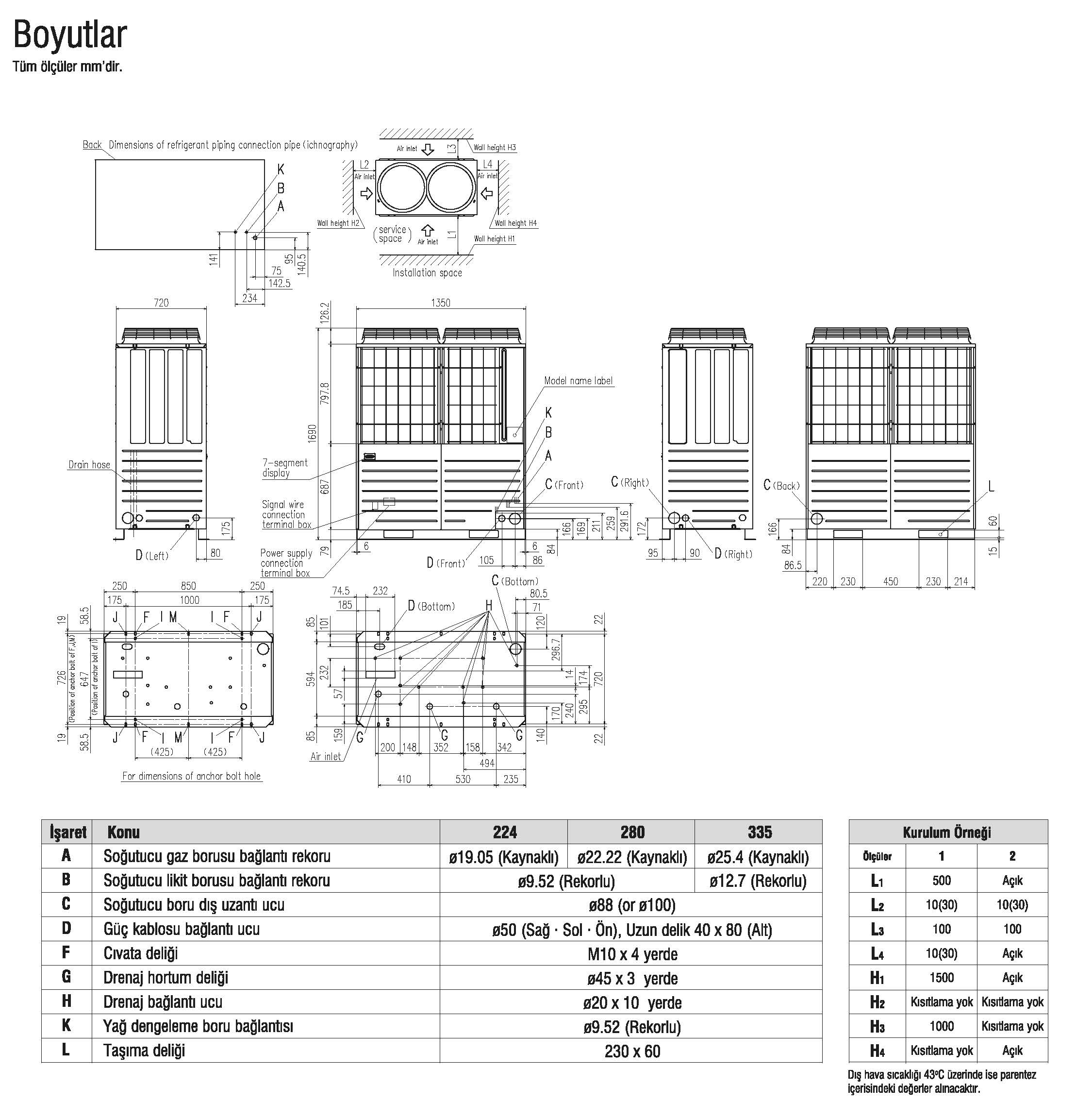 mitsubishi vrf Heat Pump Kxzx Hi-Cop Sistem